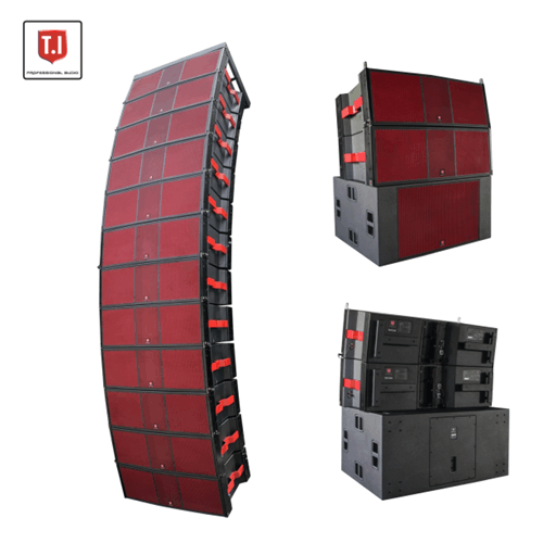 MAX215 T.I Unique Design Dual 15'' Line Array
